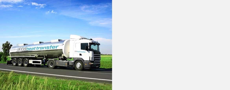 heat transfer fluid truck